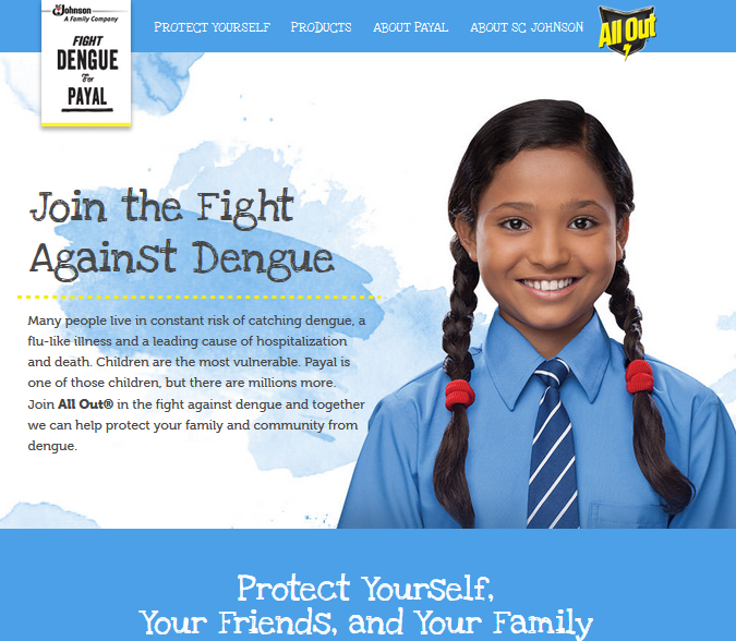 join the fight against dengue