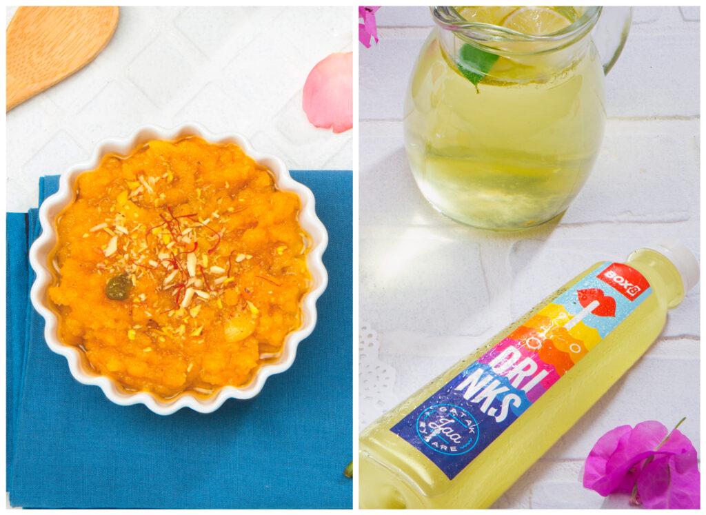 Moon Dal Halwa, Masala Lemonade - Box 8