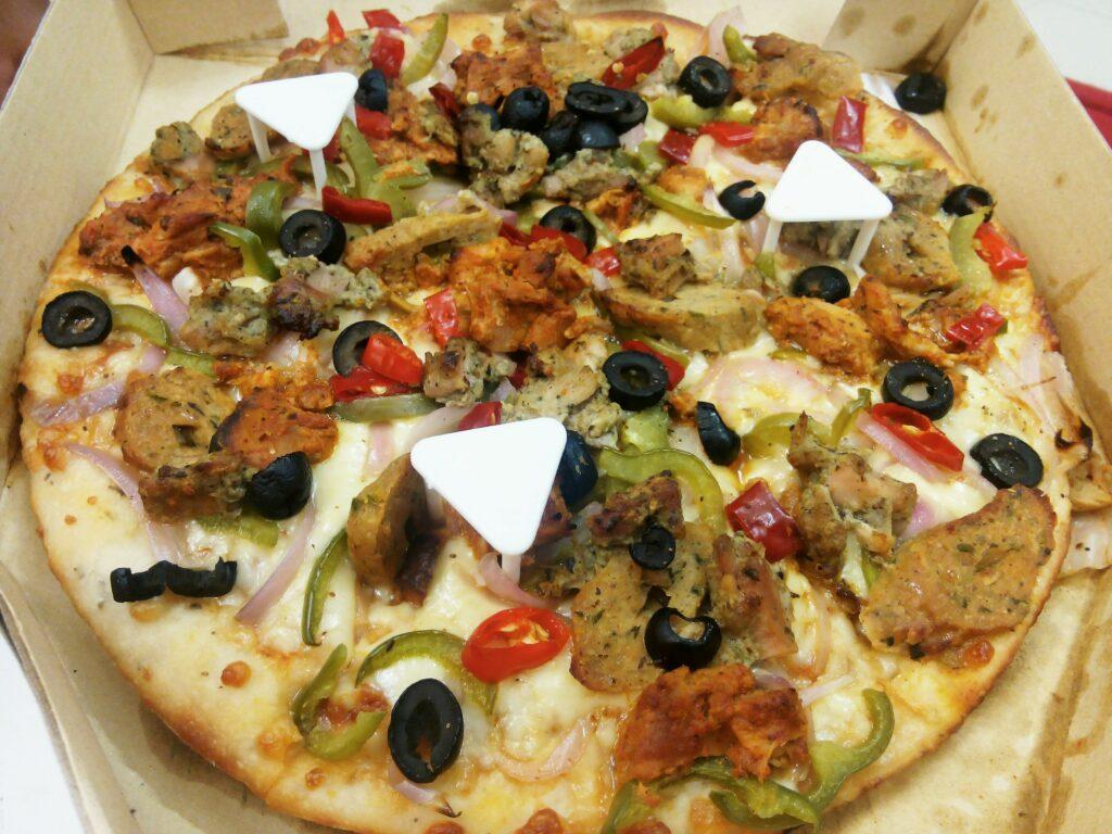 All In Chicken Pizza - Box 8