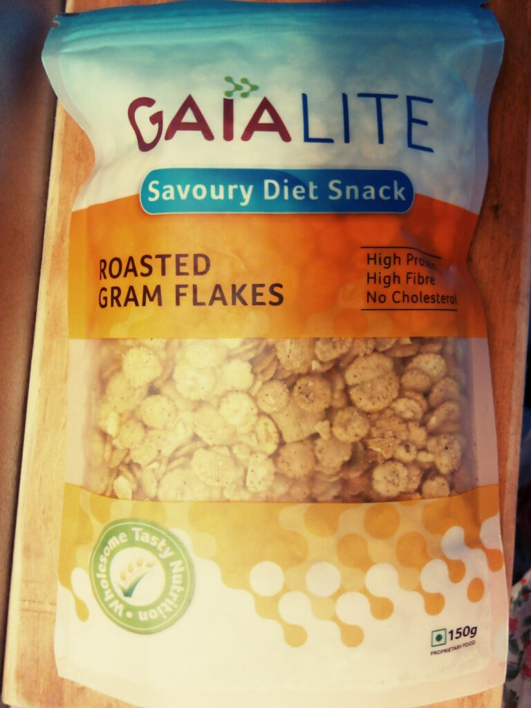 Gaia Roasted Gram Flakes