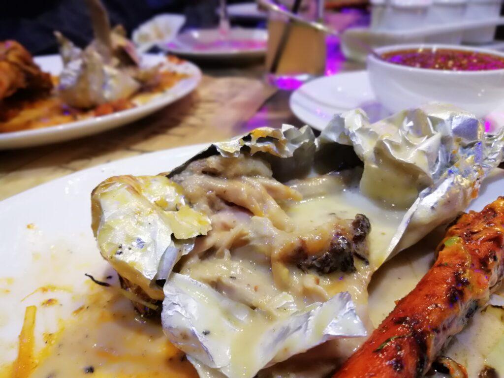 Malai Tangdi Kulfi Chicken Kebab - Kasbah Grand