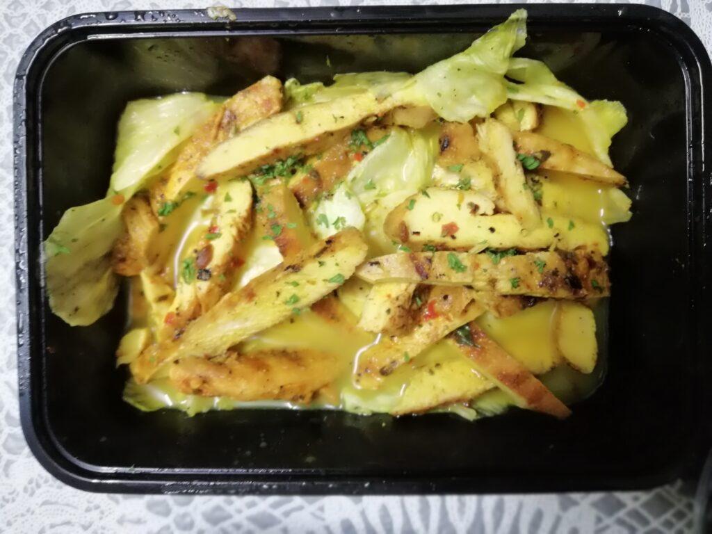 Pulled Chicken Salad with Orange Glaze