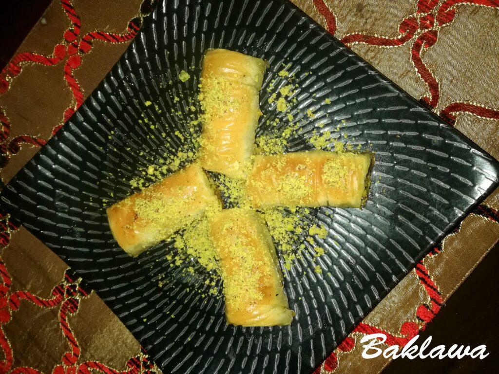 Baklawa - Lebanese Dessert