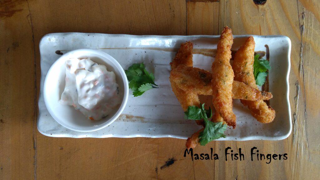Masala Fish Fingers - Bombay Adda