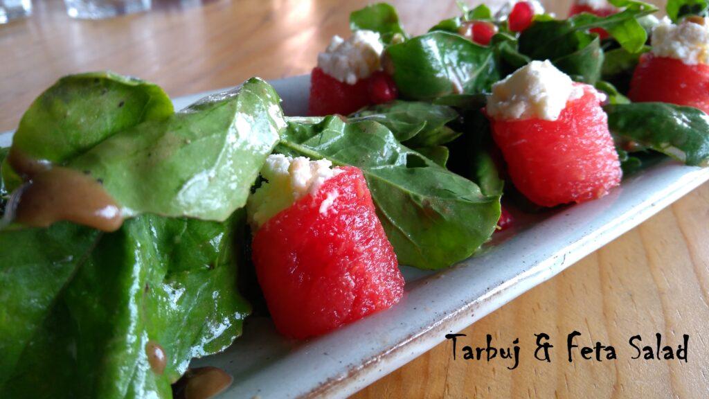 Tarbuj & Feta Salad - Bombay Adda