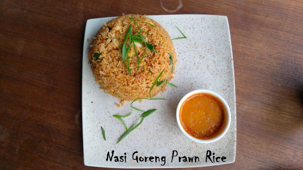 Nasi Goreng Prawn Rice - Bombay Adda