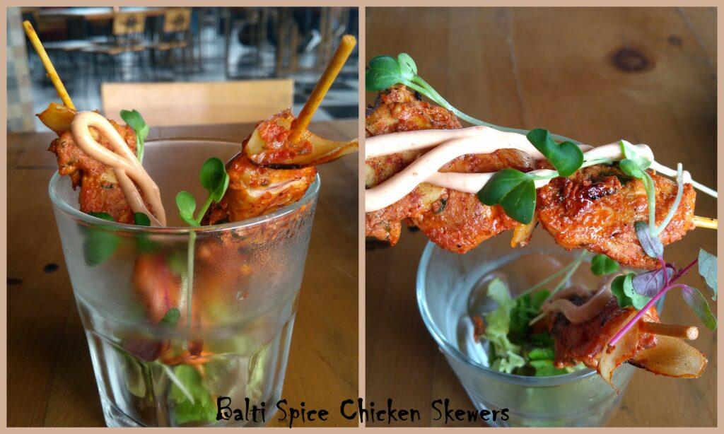Balti Spice Chicken Skewers - Bombay Adda