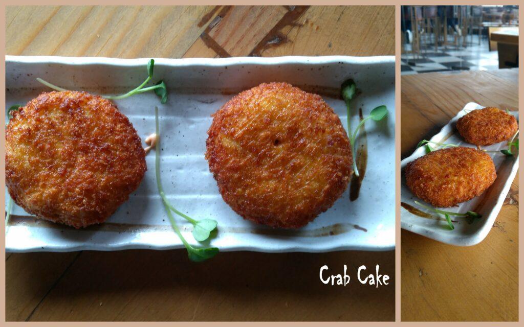 Crab Cake - Bombay Adda